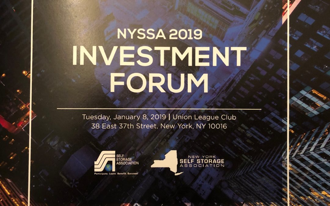 NY Self-Storage Investment Forum